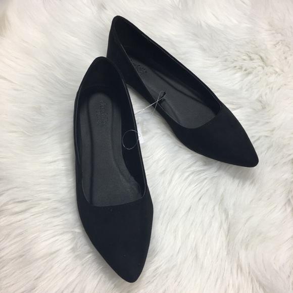 Charlotte Russe Black Ballet Flats